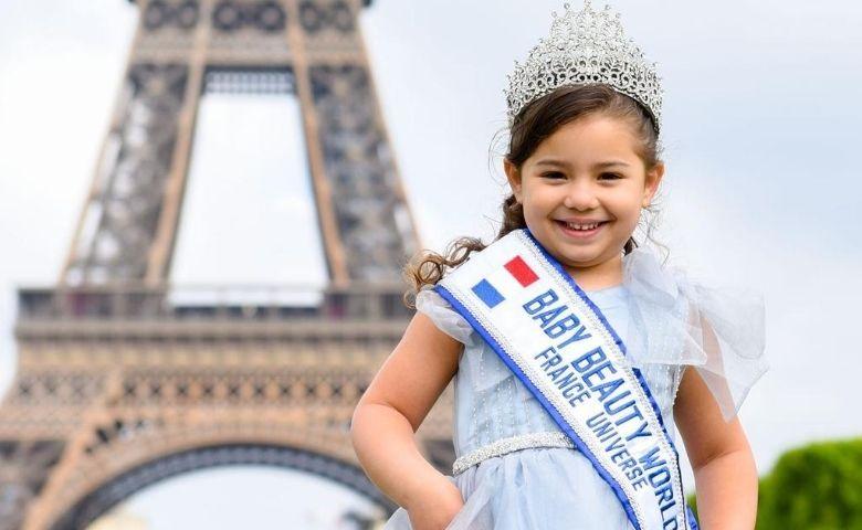 Sophia Eldo Miss Universo Baby é destaque internacional