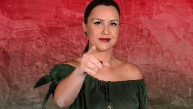 Foto de Thata Carreira é responsável por reportagens e lives especiais