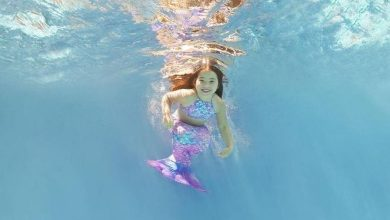Foto de Miss Universo Baby fotografa para o projeto Aquatyca