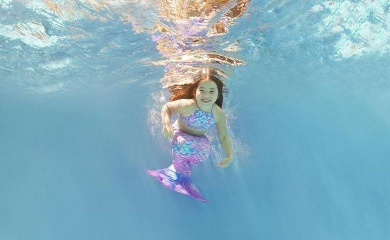 Miss Universo Baby fotografa para o projeto Aquatyca