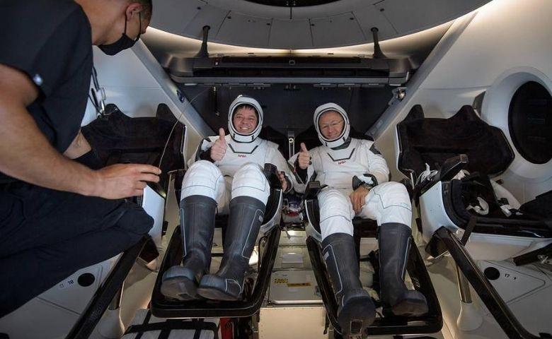 Crew Dragon à Terra confira como foi o retorno da cápsula