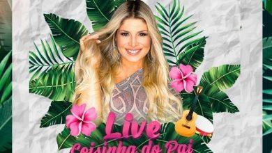 Foto de Adryana Ribeiro realiza Live no Dia dos Pais