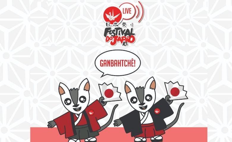 Em período da Pandemia Festival do Japão RS promove Live