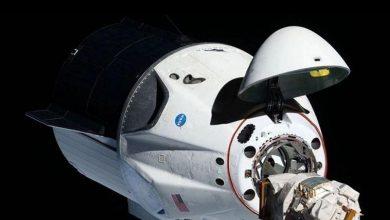 Foto de Crew Dragon à Terra confira como foi o retorno da cápsula