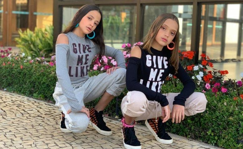 Millena e Manu Maia possuem mais de três milhões de seguidores