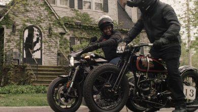 Foto de Harley-Davidson e Jason Momoa em parceria durante a pandemia