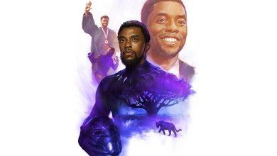Foto de Homenagem a pós da morte do ator Chadwick Boseman