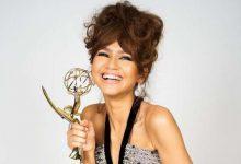 Foto de Atriz Zendaya leva prêmio em série de drama por Euphoria