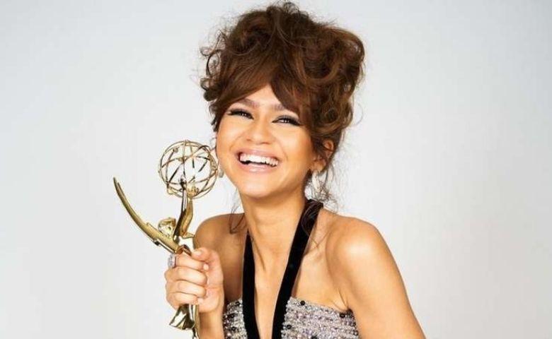 Atriz Zendaya leva prêmio em série de drama por Euphoria