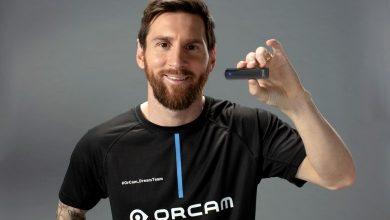 Foto de Lionel Messi é o novo embaixador da OrCam Technologies