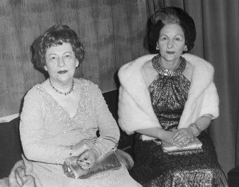 Eva Klabin e Ema Klabin. Foto:Acervo da Casa-Museu Ema Klabin