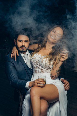 Natalia Casassola e Sérgio Longhi em ensaio pré Weeding