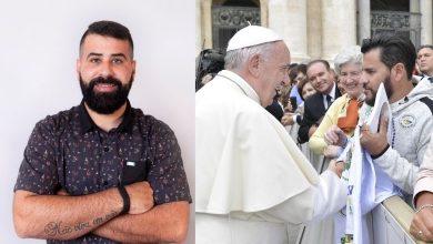 Foto de Maicon Rocha lança livro do cantor Miller Gomes com Papa Francisco
