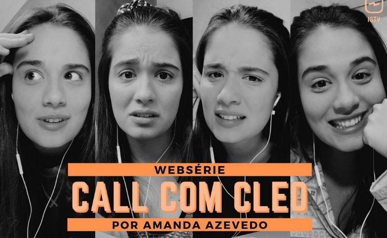 Call Com Cleo ganha vida e interage com o público