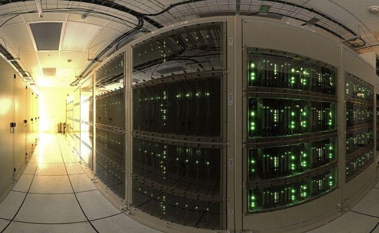 Tecnologia moderna supercomputação muito além do computador