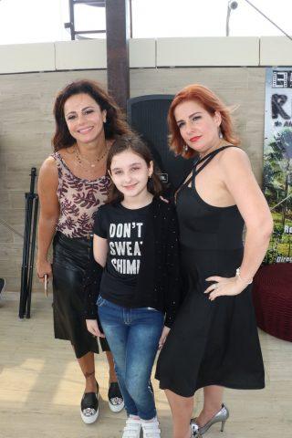 Viviane Araujo Vanessa Fontana realizaram coletiva do filme Recomeçar