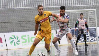 Foto de Magnus está nas semifinais da Liga Nacional de Futsal