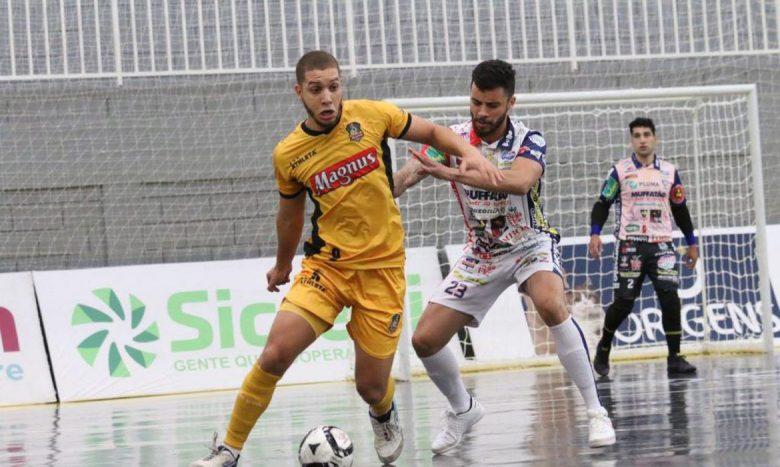 Magnus está nas semifinais da Liga Nacional de Futsal