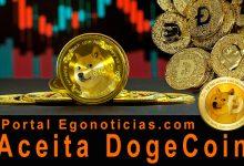 Foto de Ego Notícias aceita Dogecoin a moeda meme