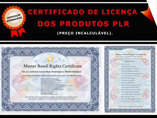 Certificado de Licença dos Produtos PLR 3018 x 2280 Im. 01